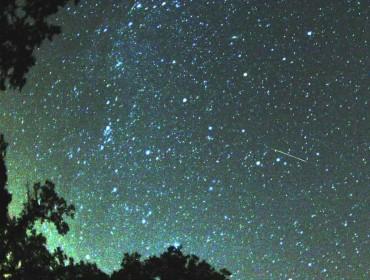 Perseidas, lluvia de meteoritos