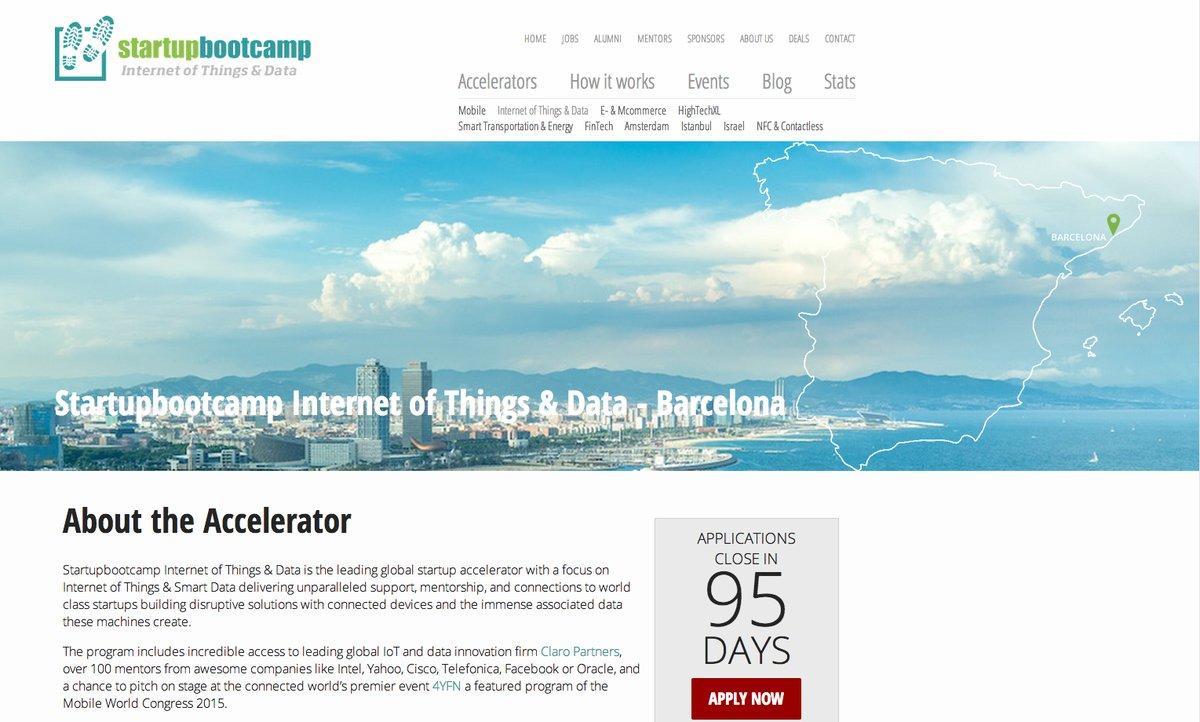 Startupbootcamp acelerará startups relacionadas con IoT en Barcelona
