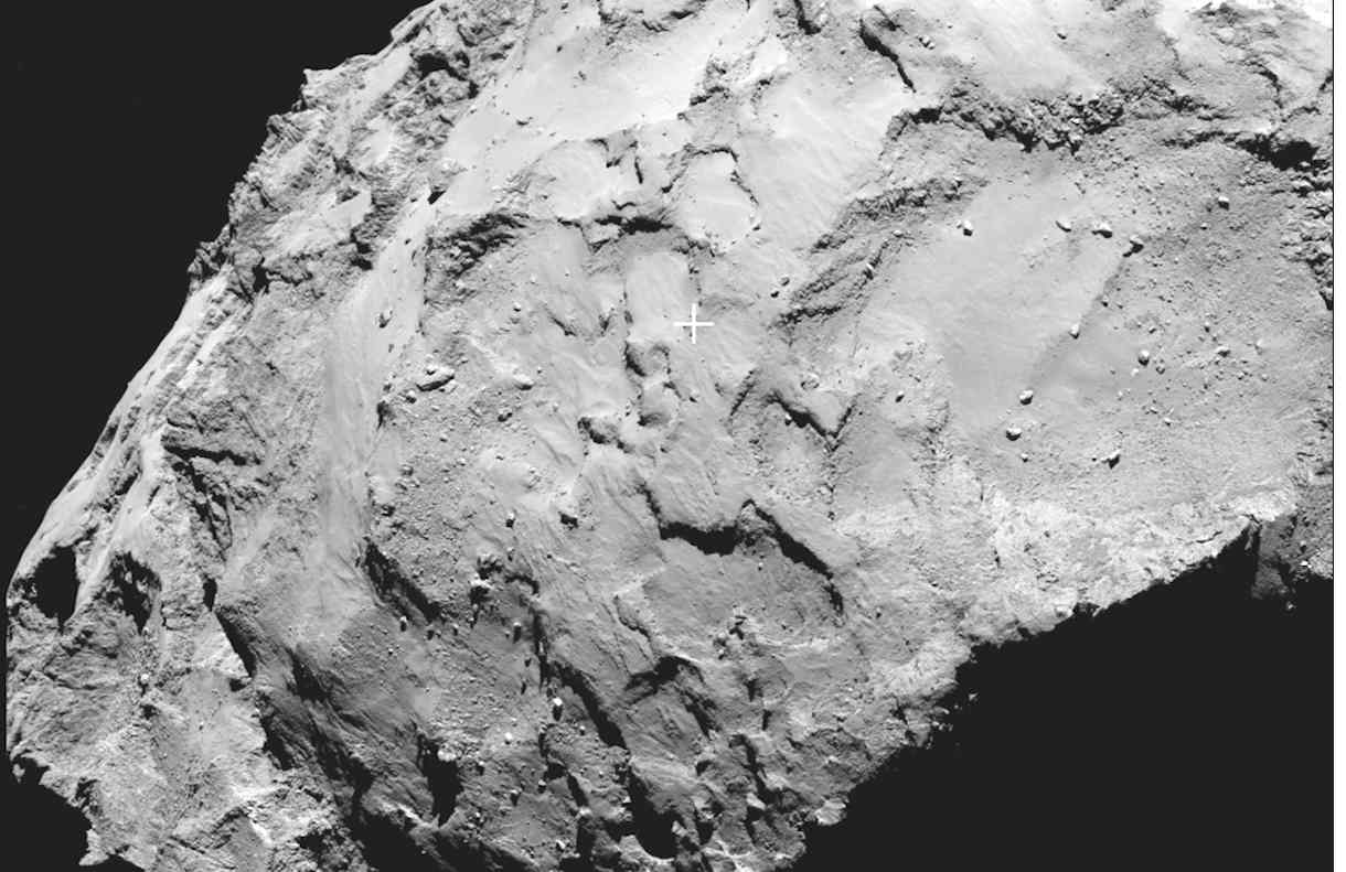 Rosetta ya sabe dónde aterrizar