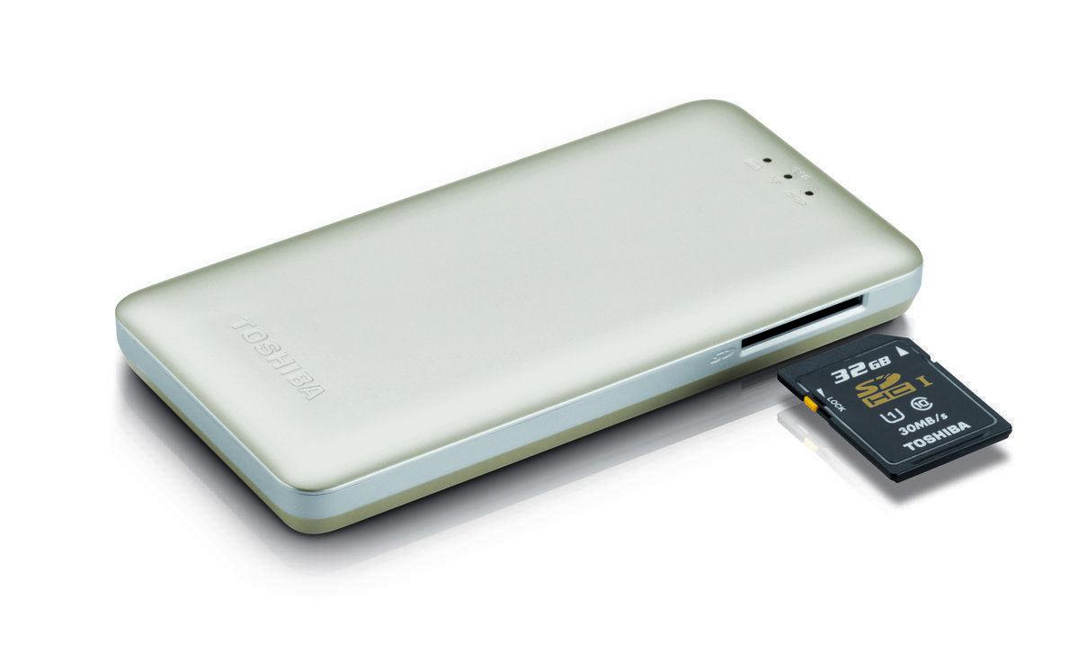 Toshiba Canvio AeroMobile, un disco SSD que lleva la nube al bolsillo
