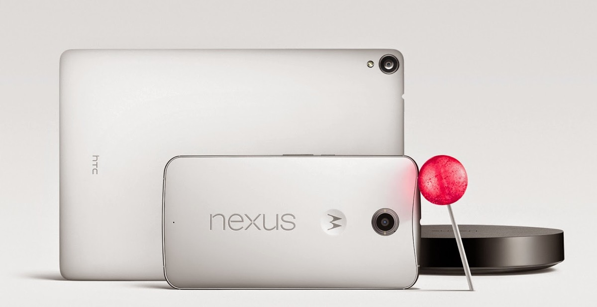 Nueva gama Nexus con Android 5.0 Lollipop y Android TV