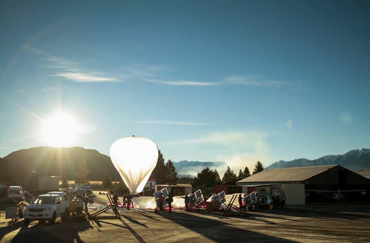 El proyecto Loon de Google ya tiene capacidad para lanzar 20 globos diarios
