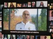 Microsoft apoyará la transformación digital del Real Madrid