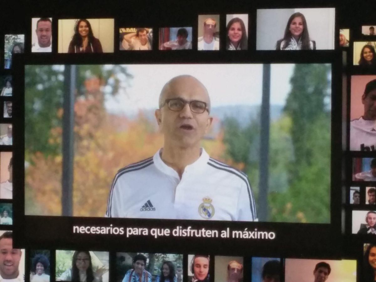 Microsoft apoyará la transformación digital del Real Madrid