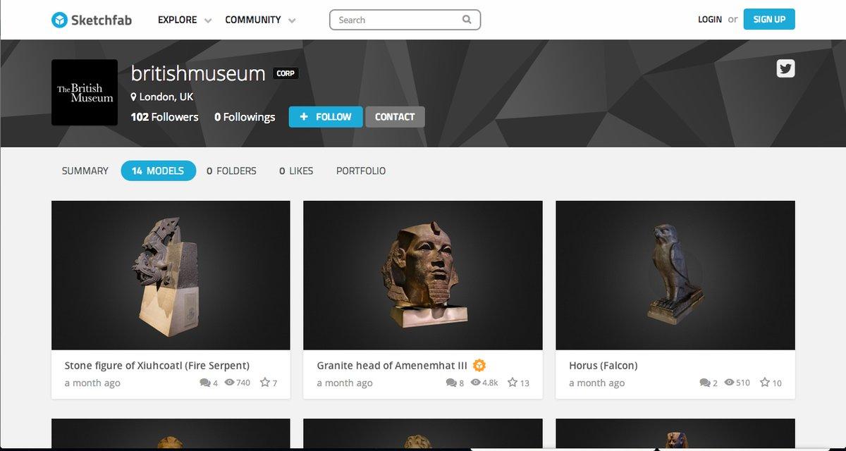 El Museo Británico dejará imprimir varias de sus piezas en 3D