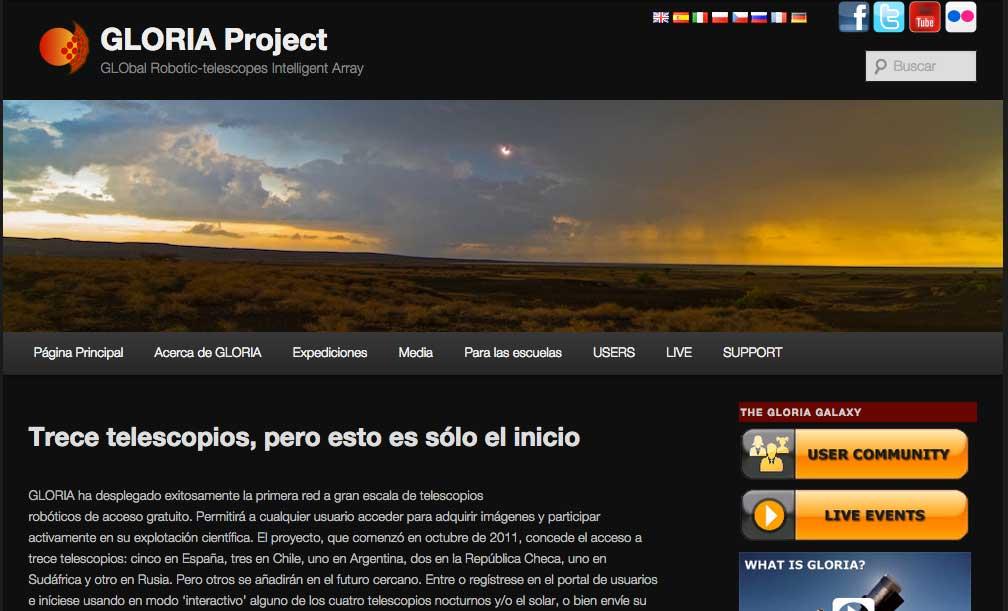 Proyecto GLORIA