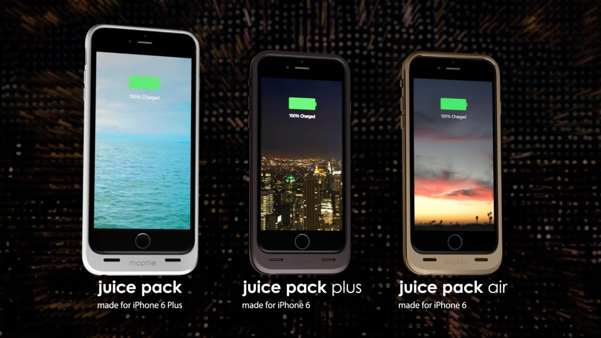 Llega el Mophie Juice Pack para iPhone 6 y iPhone 6 Plus