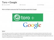 Google compra Toro, startup de marketing de apps en Facebook