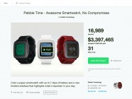 Pebble Time, smartwatch con pantalla de tecnología e-paper a color