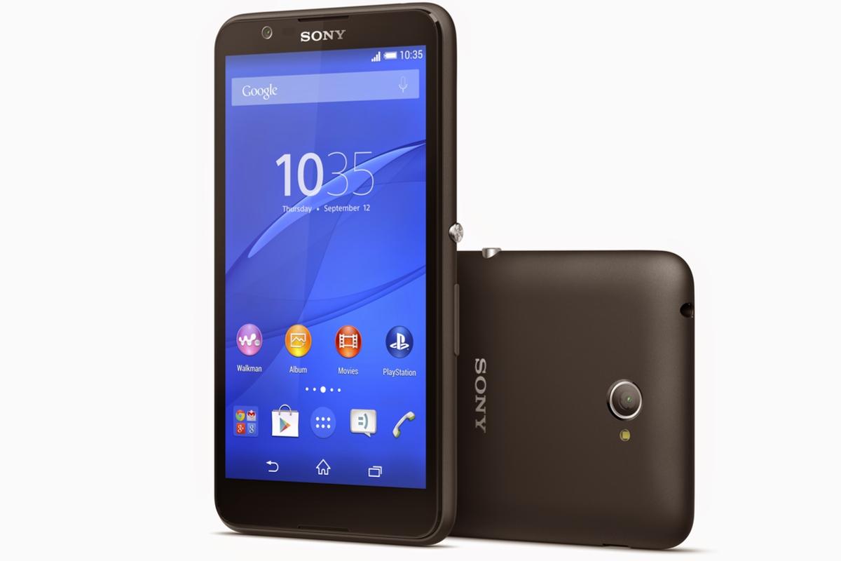 Sony Xperia E4, pantalla de 5 pulgadas y dos días de autonomía