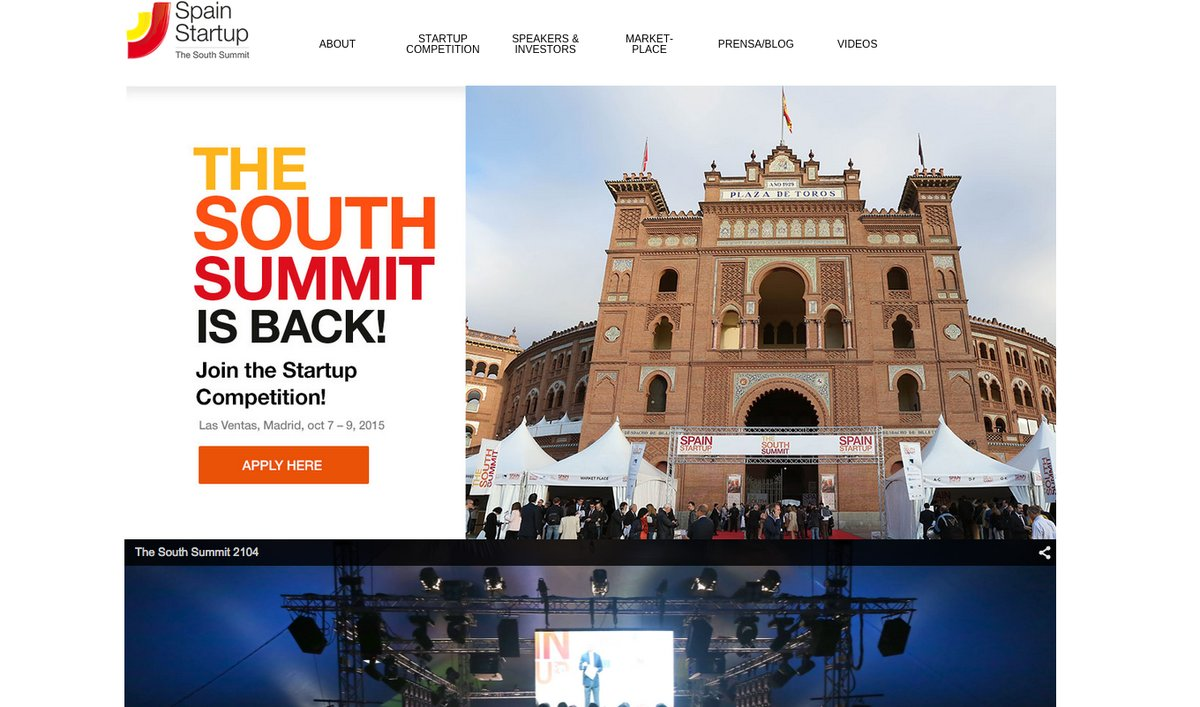 Spain Startup busca ya startups para The South Summit 2015