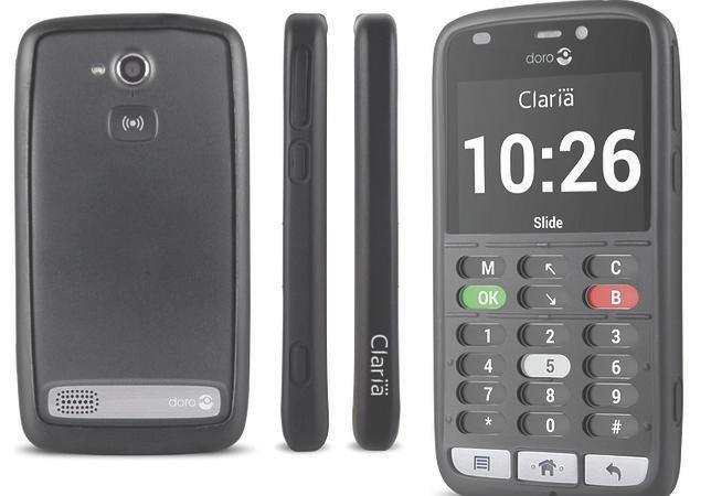 Doro y Claria, un paso adelante en el smartphone para invidentes