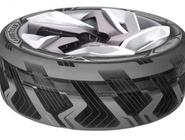 Neumático de Goodyear que genera electricidad