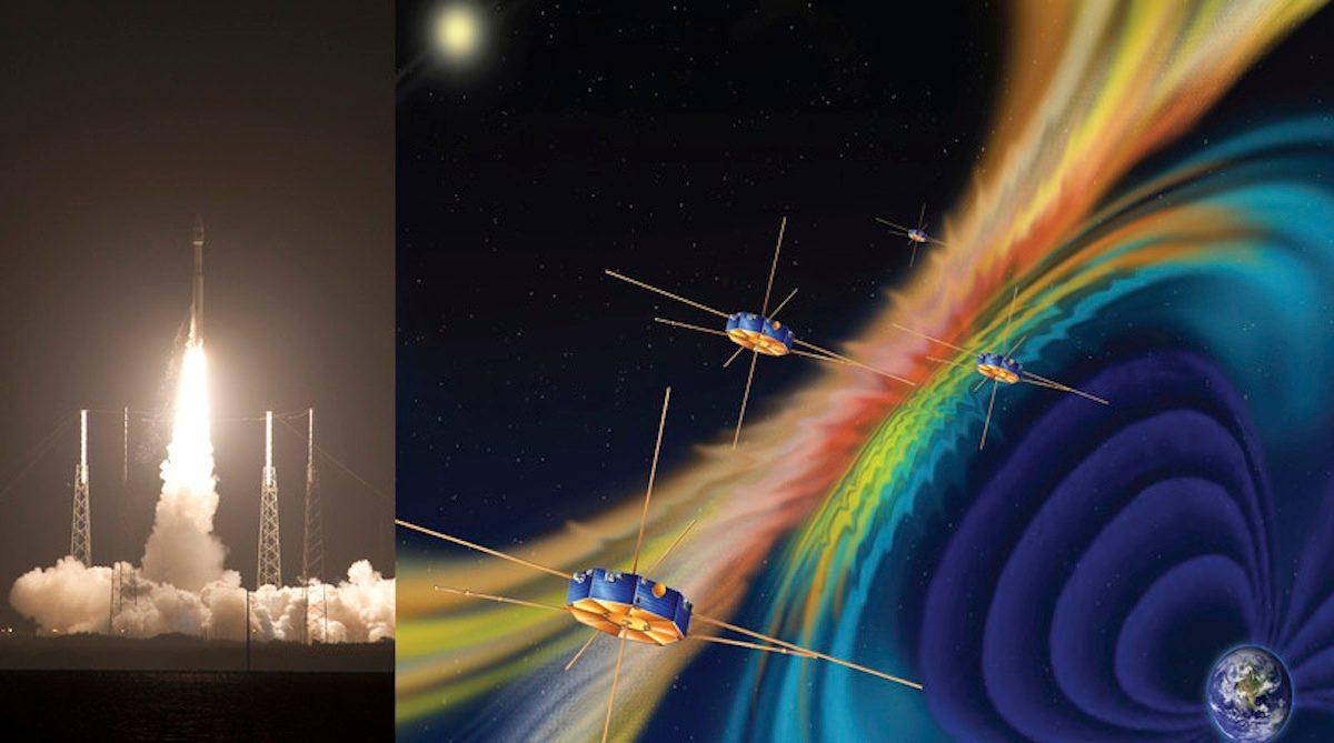 ¿Qué pasa con la magnetosfera? La NASA lanza 4 naves para averiguarlo