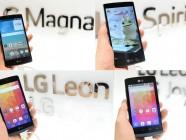 LG muestra sus nuevos smartphones en MWC 2015