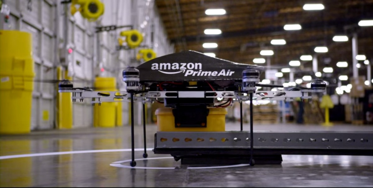 La FAA autoriza a Amazon a hacer pruebas con sus drones
