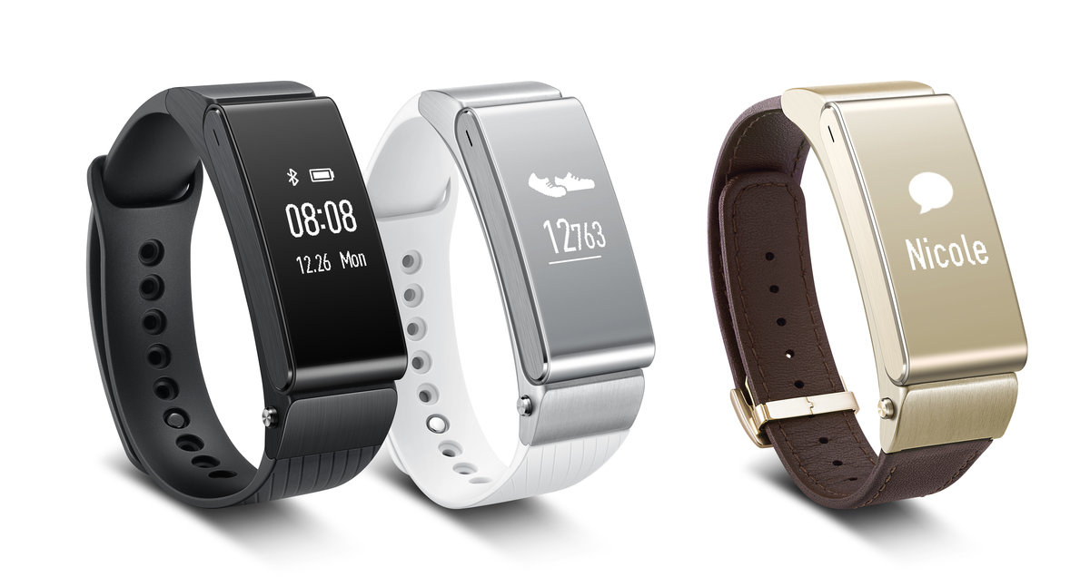 Huawei TalkBand B2 y N1, dos wearables multifunción