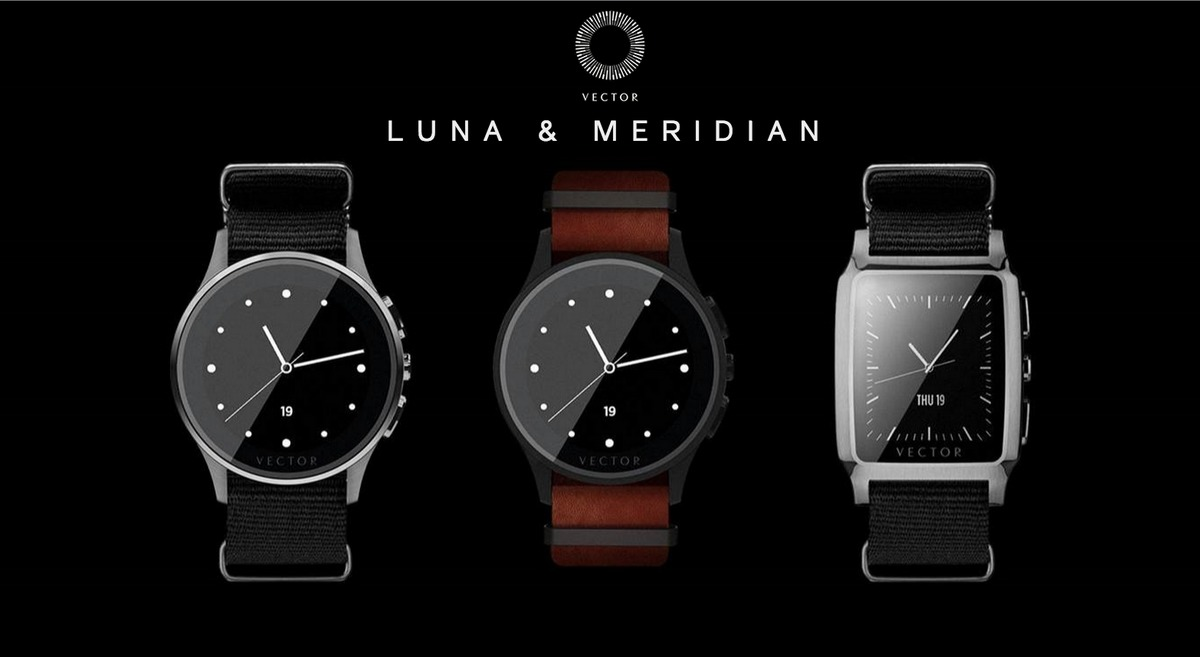 Vector, un smartwatch con 30 días de batería