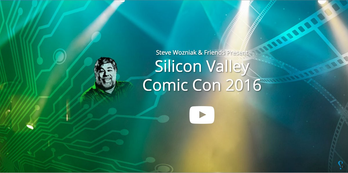 Steve Wozniak y Stan Lee organizan una Comic Con en Silicon Valley