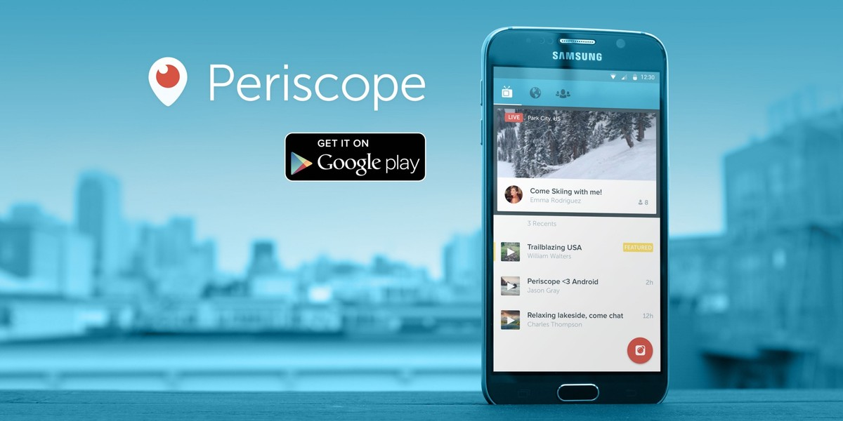 Periscope ya tiene versión para Android