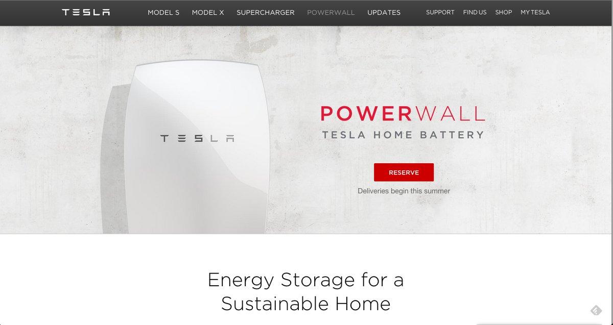 Powerwall y Powerpack, baterías de Tesla para hogar y empresa