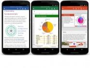 Word, Excel y Powerpoint llegan a los smartphones con Android