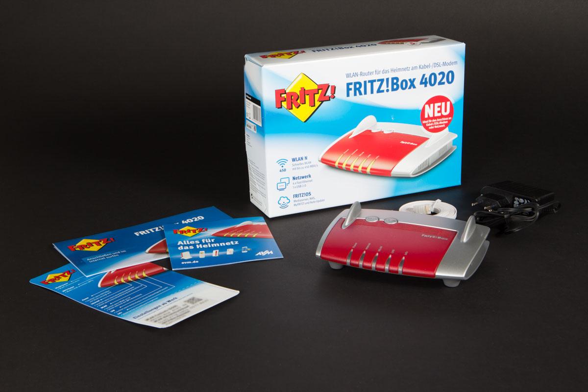 Fritz!Box 4020, un pequeño (gran) router