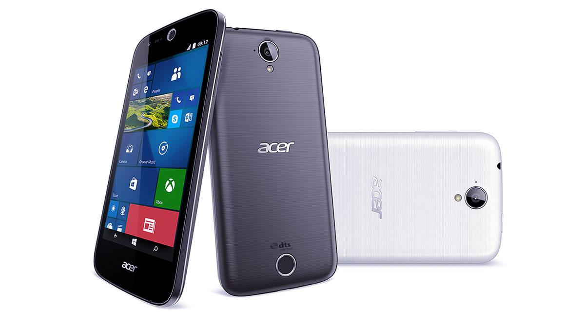 Acer presenta un tablet para gamers y nuevos smartphones