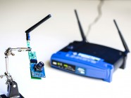 Un router wifi para cargar dispositivos