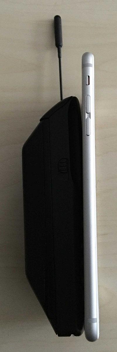 Laterales de los dos teléfonos.