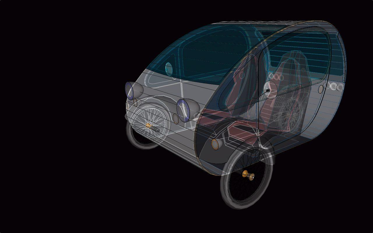 Mö, un coche solar sostenible y de código abierto para las ciudades del futuro