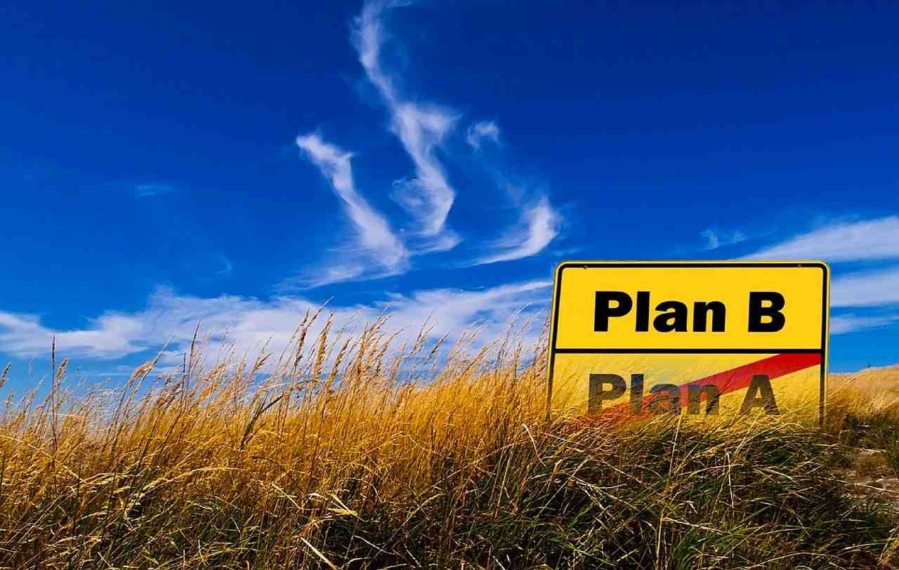 """Tener un plan """"B"""" puede ser malo para lograr el plan """"A"""""""