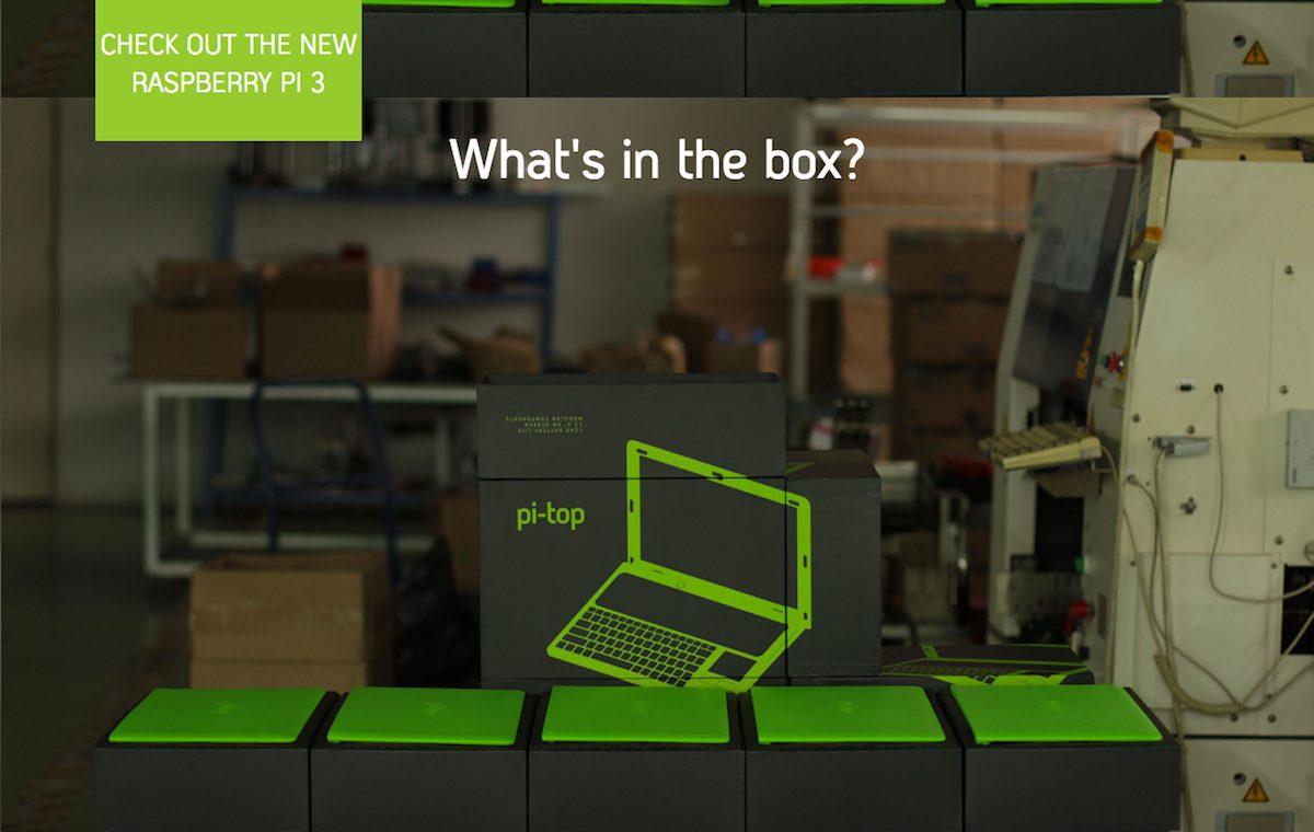 Pi-Top una Raspberry convertida en portátil