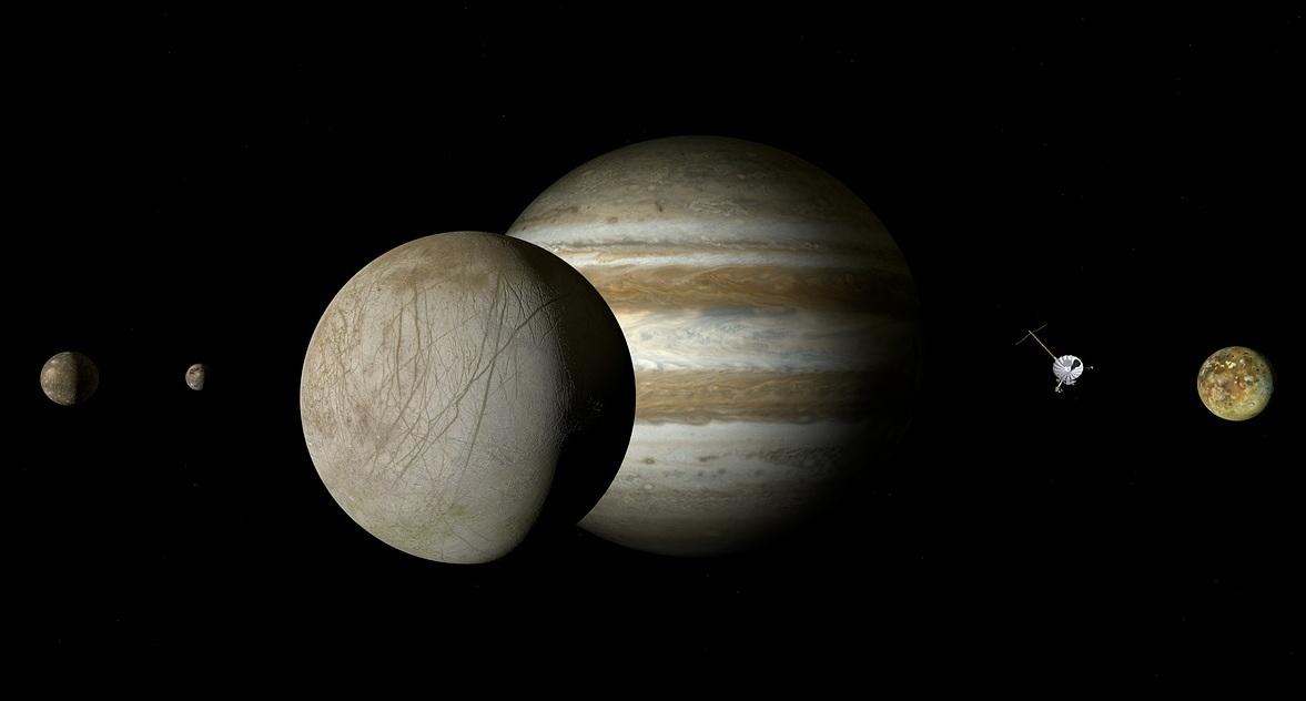 Detectada una corona de hidrógeno alrededor de Europa, la luna de Júpiter