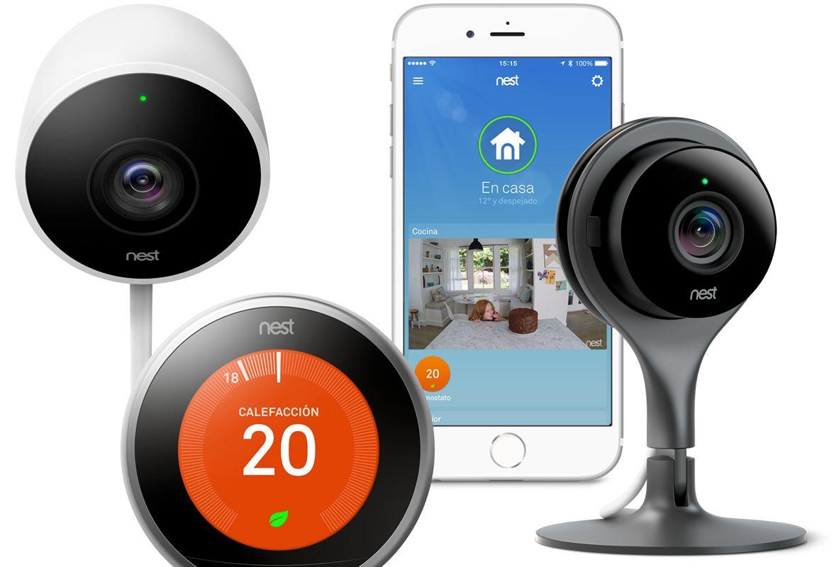 Nest lanza en España su termostato y cámaras inteligentes para el hogar