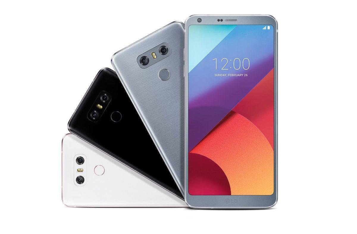 LG presenta el G6, su modelo de todo pantalla