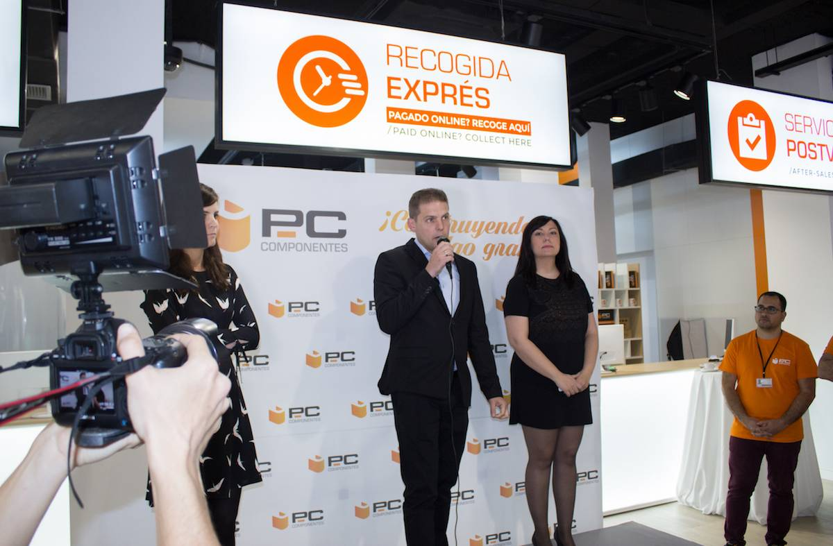 PcComponentes abre tienda en Madrid
