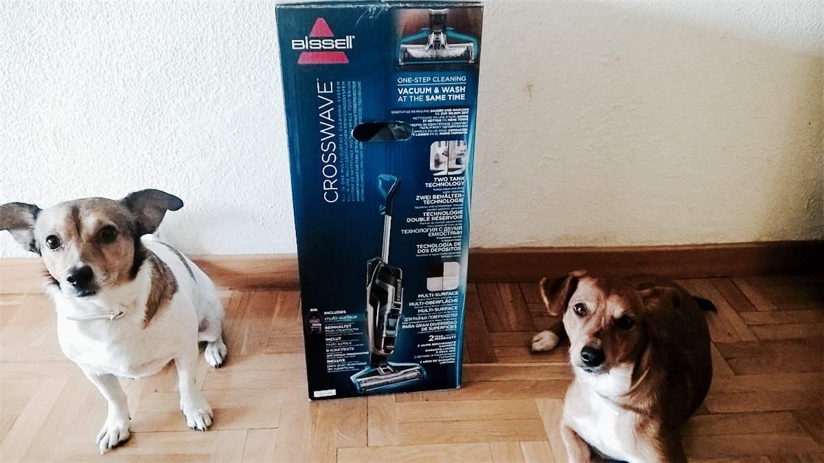 CrossWave de BISSELL, un aspirador más que interesante si tienes mascotas