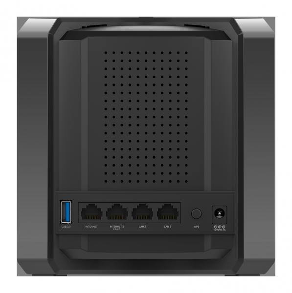 Conexiones del router D-Link D-2680