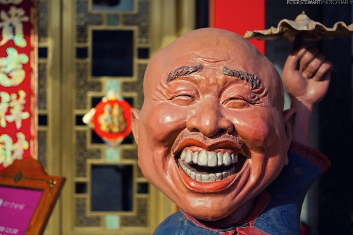 Chino riendo