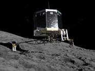 Hay materia orgánica en el cometa P67/Churyumov–Gerasimenko